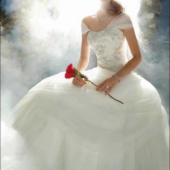 Satin Princess Wedding Dresses Belle